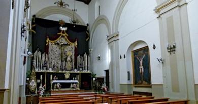 Fräck kyrkotjuv gripen i Málaga