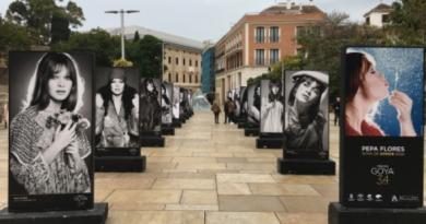 Marisol hyllas vid Premios Goya